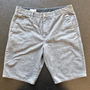 Men's 32 Gray Volcom Shorts